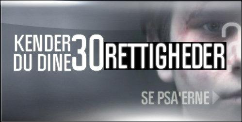 KENDER DU DINE 30 RETTIGHEDER   SE PSA'ERNE