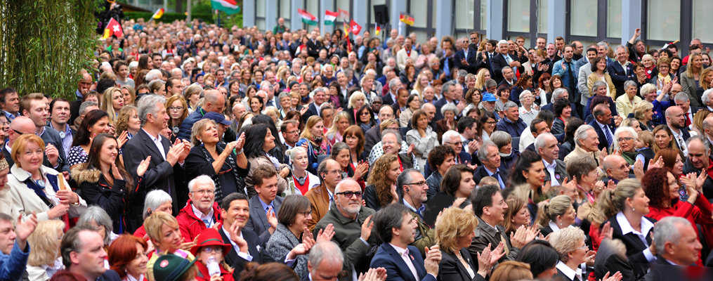 Thousands of Scientologists from across Europe