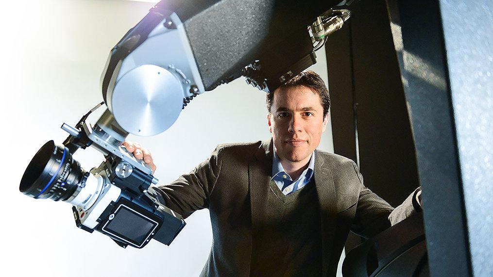 Assaff Rawner. Motion control apparatuur