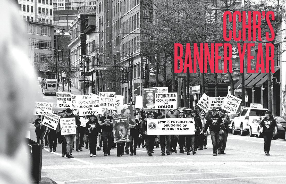 CCHR's Banner Year