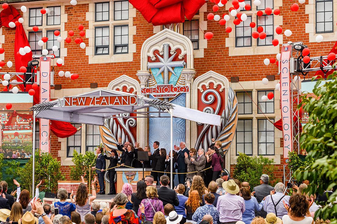 Invigningen av den nationella Scientology Kyrkan i Nya Zeeland