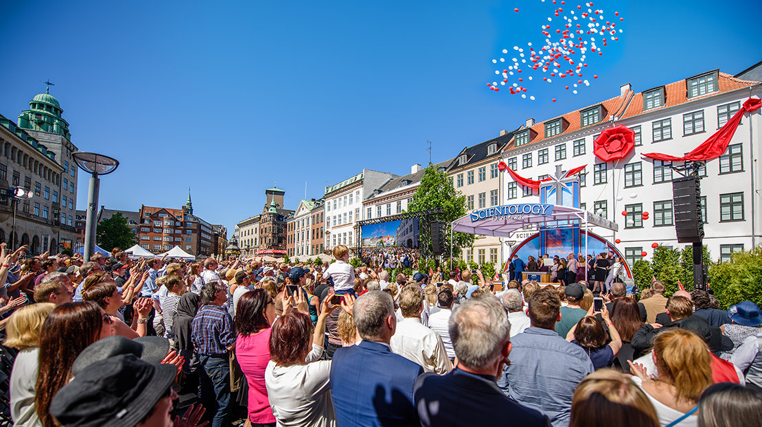 Inauguration de l'Église de Scientology du Danemark