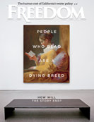 Freedom Magazine. People Who Read Are a Dying Breed issue cover