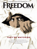 Freedom Magazine. Patriot Games issue cover