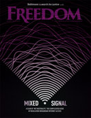 Freedom Magazine. Net Freedom issue cover