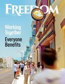 Freedom Magazine. Clearwater Building cover