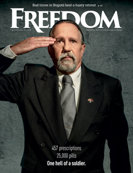 Freedom Magazine. Veterans issue cover