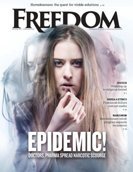 Freedom Magazine. Pill Pushers issue cover