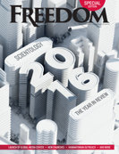Freedom Magazine. The 2016 Expansion issue cover