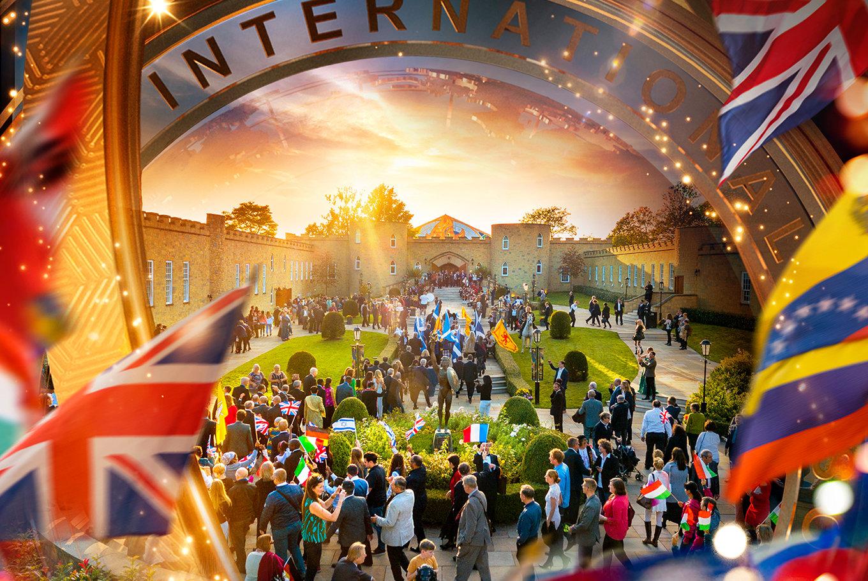 A világ minden tájáról érkező Scientologistok összegyűlnek a hatalmas  sátorban október 5-én dbaec916b9