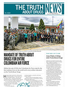 コロンビア空軍全体に「知ってください:薬物」を義務付ける
