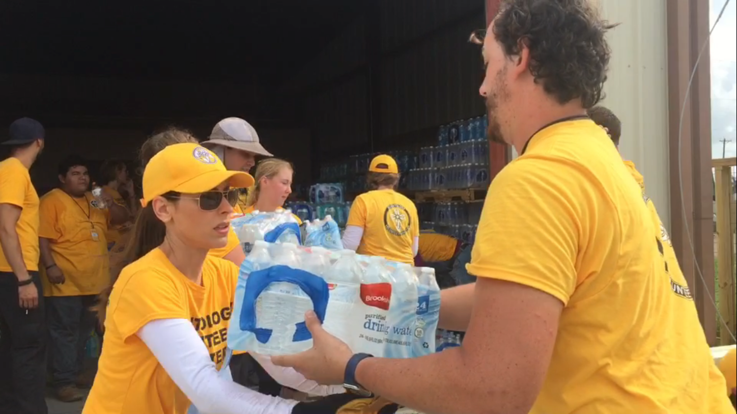 Scientology Volunteer Ministers providing relief after Hurricane Harvey