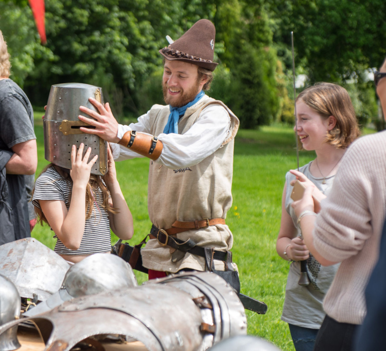 Scientology UK Medieval Fayre Raises £4,000 for Local Charity