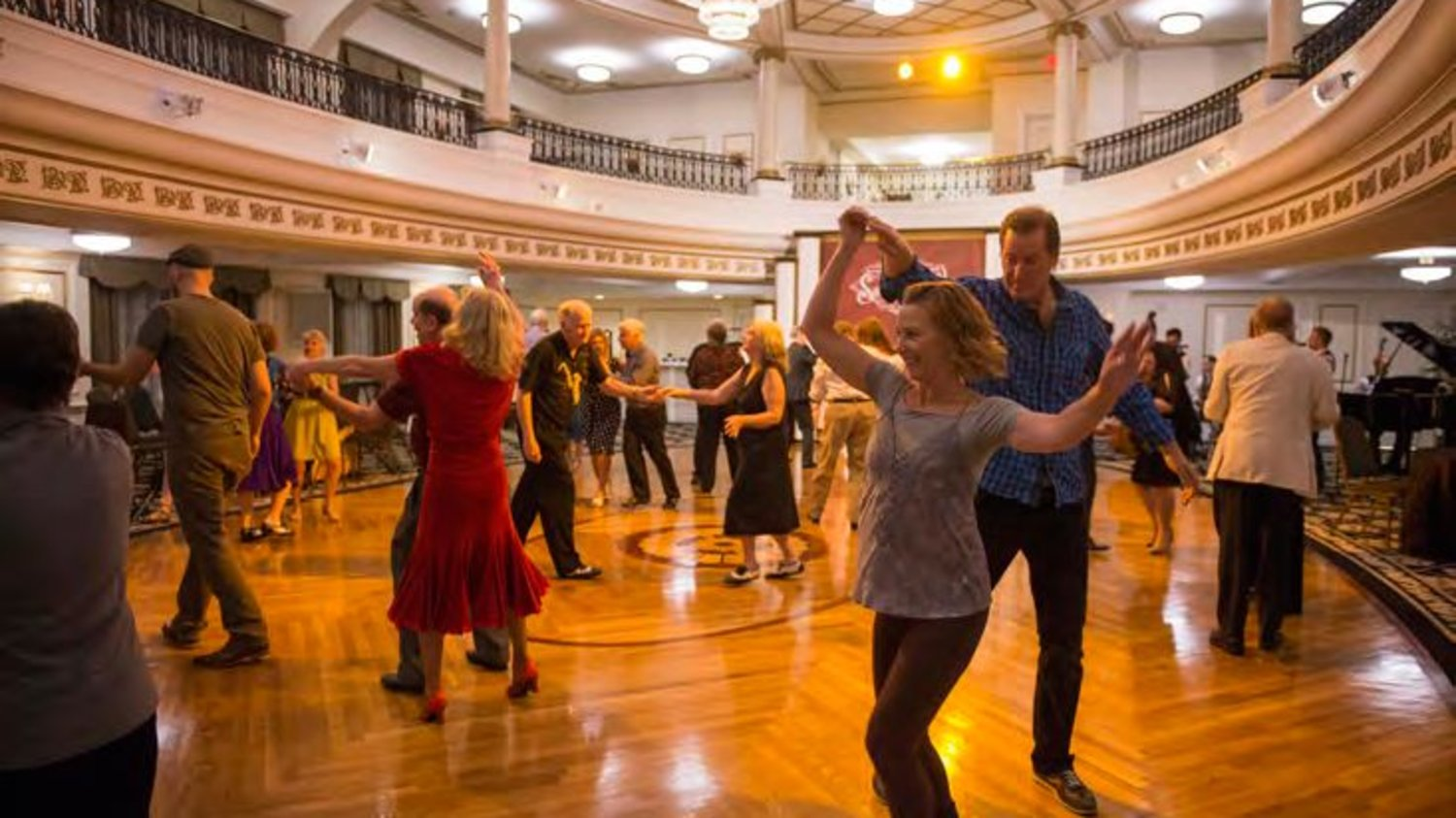 Swing Dancing For Charity At The Church Of Scientology In