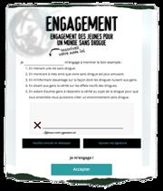 Signez l'engagement