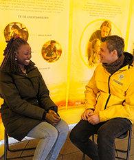 志願牧師抵達哥本哈根市中心,成為閃亮的燈塔,提供實際幫助