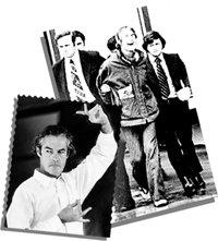 Timothy Leary, psycholoog aan de universiteit van Harvard, die LSD en andere hallucinerende psychiatrische drugs propageerde, werd gearresteerd en gevangen gezet voor aan drugs gerelateerde misdaden. Bron van de afbeeldingen: DEA/Arrestatie van Tomothy Leary
