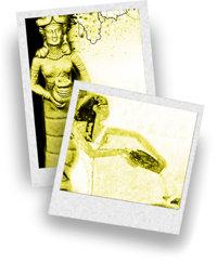 醸造酒を注ぐ様子が描かれた古代エジプト文明の壁画  写真: GoddessGift