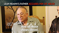 Leah Remini's Father Accuses Her of Abuse