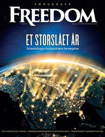 Tidsskriftet Freedom. December 2017