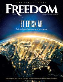 Tidsskriftet Freedom. Desember 2017