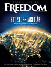 Tidskriften Freedom. December 2017