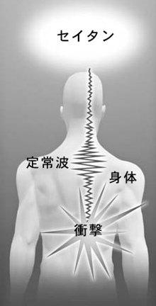 衝撃のショックが神経経路の中に留まると、エネルギーの形で定常波が生じます。