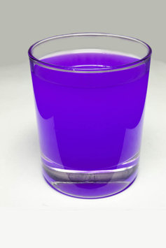 glass of purple drank