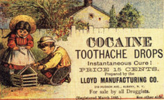 Old Ad for Cocaine as a Toothache Remedy