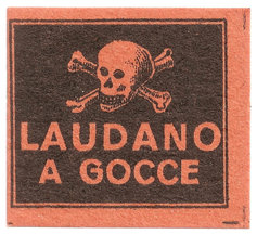 laudanum label