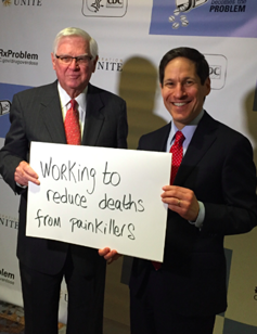 Rep. Hal Rogers and Tom Frieden of the CDC