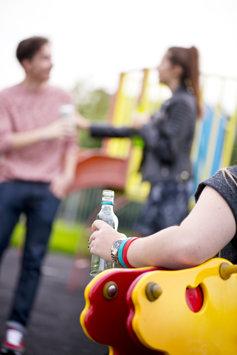 Teenagers drink alcopops
