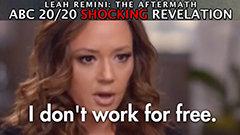 Leah Remini's ABC 20/20 Shocking Revelation