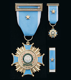 "The Brigadier General Jaime Ramírez Gómez Inspector General Transparency Medal represents ""courage, bravery and honesty"" and the ""display of the highest ideals, morals and ethical values."""