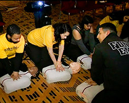 VM TECH PLUS FIRST AID EQUALS MORE LIVES SAVED