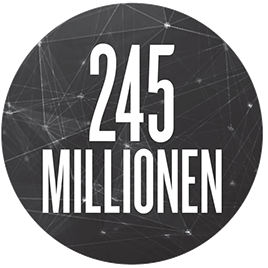 245Millionen