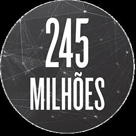 245 milhões