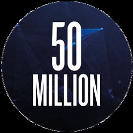 50 million
