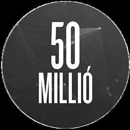50 millió