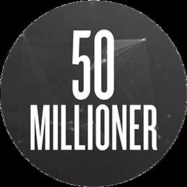 50 millioner