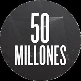 50 millones