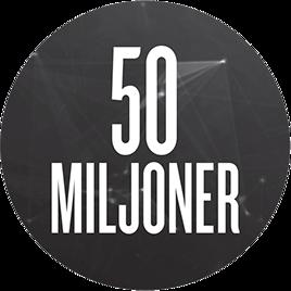 50 miljoner