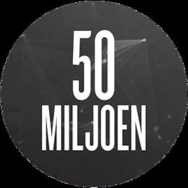 50miljoen