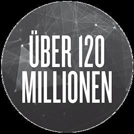 Über 120Millionen