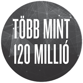 Több mint 120 millió