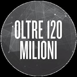 oltre 120 milioni