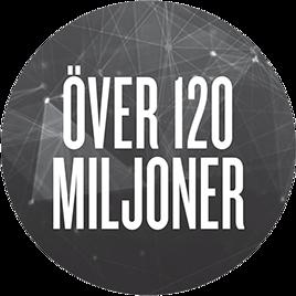 Över 120 miljon
