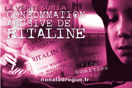 La vérité sur la consommation abusive de Ritaline