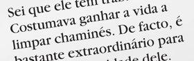 1. Está a ler a frase «Ele costumava ganhar a vida a limpar chaminés» e não tem a certeza do que significa «chaminés».