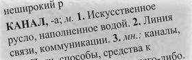 3. Вы не знаете точно, что значит слово «русло», поэтому вы находите его в словаре; там сказано, что это «углубление в почве, по которому течёт водный поток». Эта дефиниция подходит, и она вам понятна, так что вы составляете предложения со словом в этой дефиниции, до тех пор пока у вас не сложится совершенно чёткий концепт этой дефиниции слова.